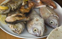 Piatto di pesci Fotografie Stock Libere da Diritti