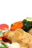 Piatto di pesci Fotografia Stock
