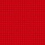 Piatto di plastica rosso della costruzione Fondo senza cuciture del modello Illustrazione di vettore illustrazione vettoriale