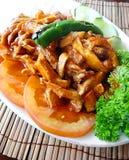 Piatto di pollo turco Immagini Stock