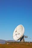 Piatto di telecomunicazioni via satellite immagine stock libera da diritti