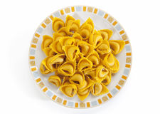 Piatto di tortelli di zucca Royalty Free Stock Photo