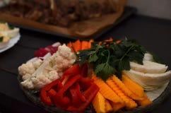 Piatto di verdure Immagini Stock Libere da Diritti