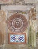 Piatto e mattonelle di Traditionl Fotografia Stock Libera da Diritti