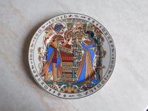 Piatto egiziano  Fotografia Stock