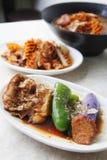 Piatto freddo cinese Fotografie Stock Libere da Diritti