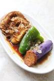 Piatto freddo cinese Fotografie Stock
