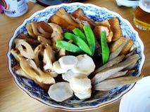Piatto giapponese tipico Fotografia Stock