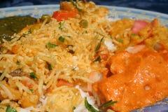 Piatto indiano Immagine Stock