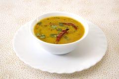 Piatto indiano del sud del Sambar Immagini Stock Libere da Diritti