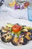 Piatto italiano Immagine Stock