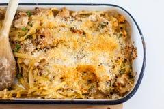 Piatto italiano della pasta Immagine Stock
