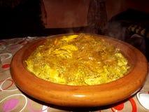 Piatto marocchino: Rfissa Immagine Stock