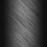 Piatto metallico d'acciaio spazzolato Immagini Stock Libere da Diritti