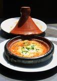 Piatto nazionale del Marocco - tajine Fotografie Stock