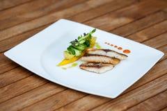 Piatto per gli amanti del pesce fotografia stock libera da diritti