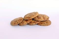 Piatto peruviano tipico dei biscotti del pane Fotografia Stock