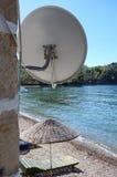 Piatto sulla spiaggia Fotografia Stock