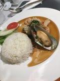 Piatto tailandese fotografie stock