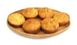 Piatto tradizionale di projara o di Proja del pane di cereale fotografie stock