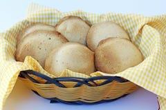 Piatto tradizionale peruviano del canestro del pane Fotografia Stock Libera da Diritti