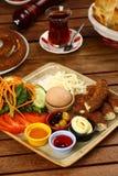 Piatto turco della prima colazione fotografia stock libera da diritti