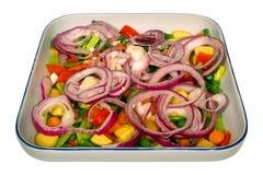 Piatto vegetali Immagini Stock