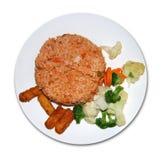 Piatto vegetariano Fotografia Stock