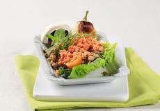 Piatto vegetariano Fotografia Stock Libera da Diritti