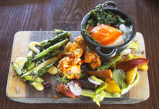 Piatto vegetariano Immagine Stock
