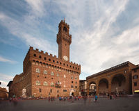 Piaza della signoina Florence, Tuscany Stock Photography
