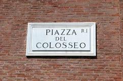 Piazza Fotografie Stock