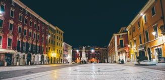 Piazza Alberica à Carrare Image stock