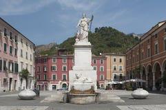 Piazza Alberica, Carrare, Toscane Images libres de droits