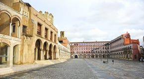 Piazza Alta in Badajoz, Extremadura, Spanien Lizenzfreies Stockfoto