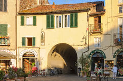 Piazza Anfiteatro 2 - Lucca Royalty Free Stock Photo