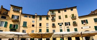 Piazza Anfiteatro - Lucca Tuscany Italy Royalty Free Stock Photos