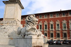 Piazza Aranci stock photos
