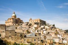 Piazza Armerina, Sicilien royaltyfri bild
