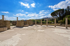 Roman Villa Mosaic Sicily Royalty Free Stock Photography