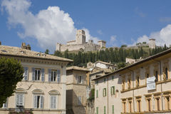 Piazza in Assisi Royalty Free Stock Images