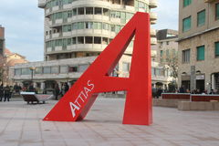 Piazza attias livorno Stock Photos