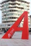 Piazza attias livorno Royalty Free Stock Images
