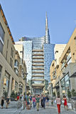 Piazza Aulenti and the Unicredit Tower Royalty Free Stock Photo