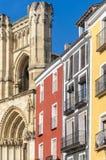 Piazza-Bürgermeister de Cuenca stockfotos