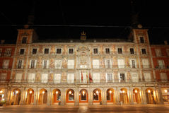 Piazza-Bürgermeister in Madrid Lizenzfreies Stockbild