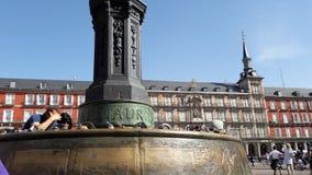 Piazza-Bürgermeister Madrid Lizenzfreie Stockfotos