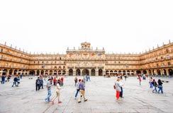 Piazza-Bürgermeister in Salamanca, C Lizenzfreie Stockfotografie