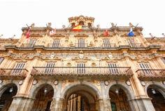 Piazza-Bürgermeister in Salamanca, Kastilien y Leon, Spanien Lizenzfreie Stockfotografie