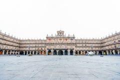 Piazza-Bürgermeister in Salamanca, Kastilien y Leon, Spanien Lizenzfreie Stockfotos